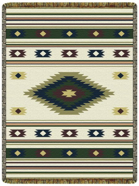 Indian Spirit  Tapestry Throw