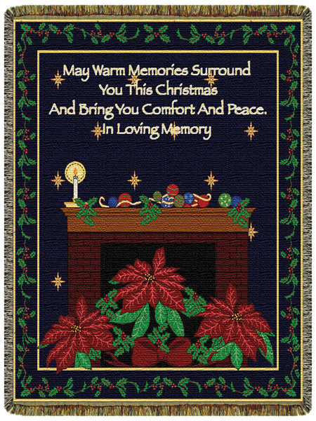 Christmas Memories  Tapestry Throw