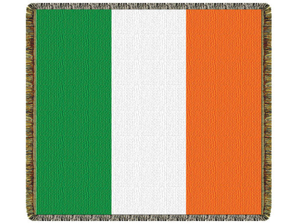 Irish Flag  Tapestry Throw