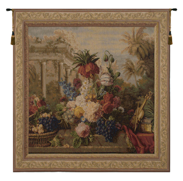 Bouquet Exotique II French Tapestry
