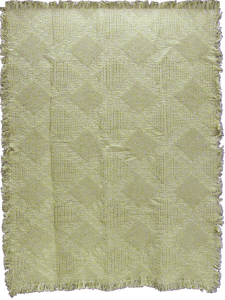 Fancy Diamonds Natural  Tapestry Throw