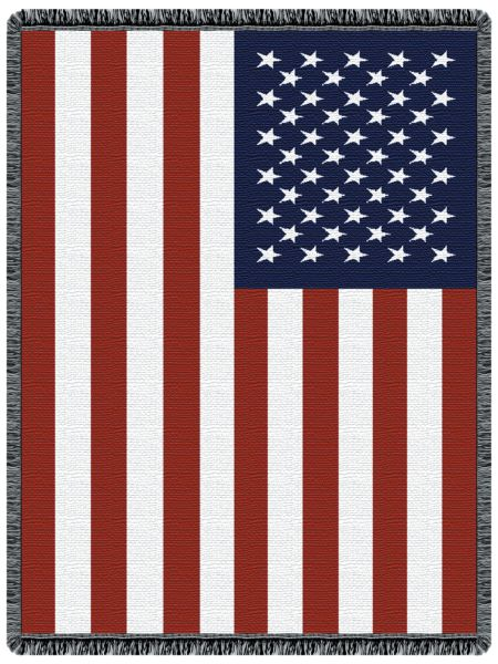 Stars and Stripes I Tapestry Throw