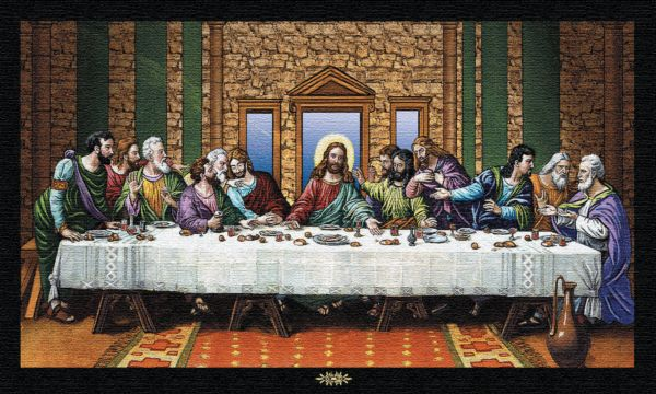 Last Supper Tapestry Wall Hanging