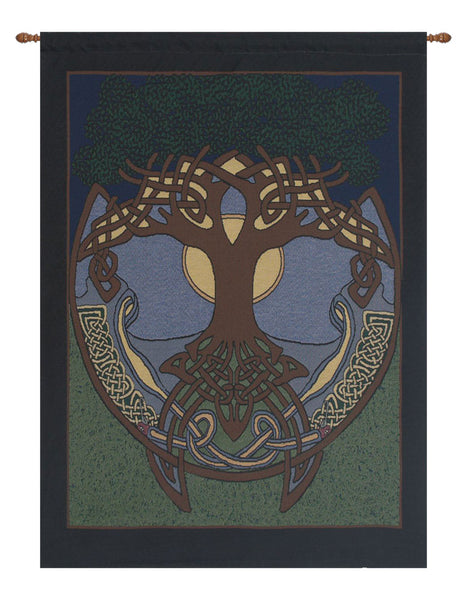 Celtic Tree II Tapestry Wall Hanging