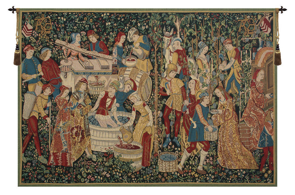 Vendages II  Belgian Tapestry