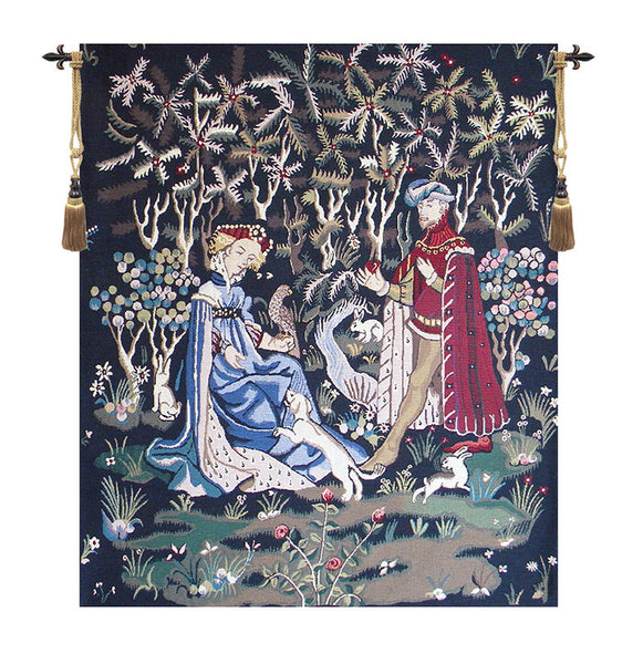 Gift of the Heart Belgian Tapestry