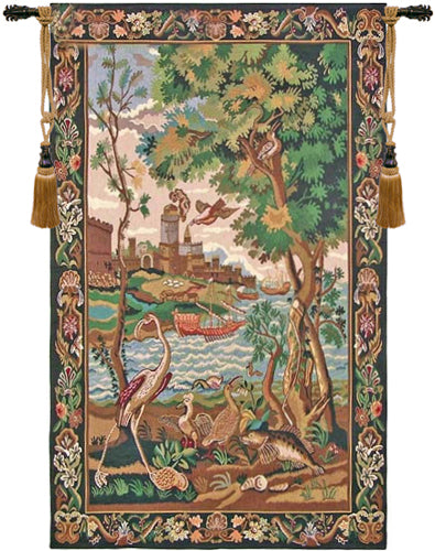 Gate to the Sea Belgian Tapestry