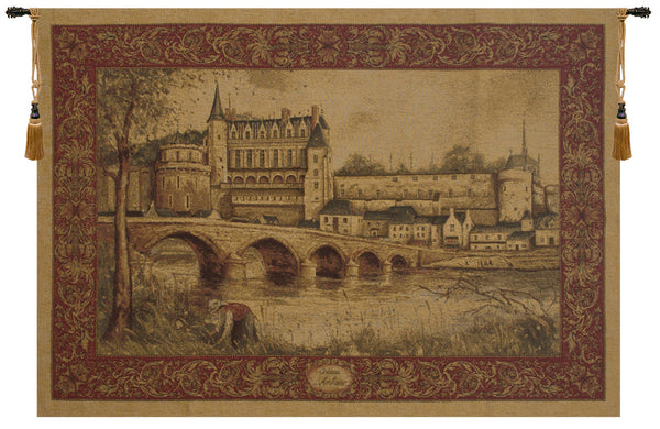 Chateau d Amboise Tapestry Wall Hanging
