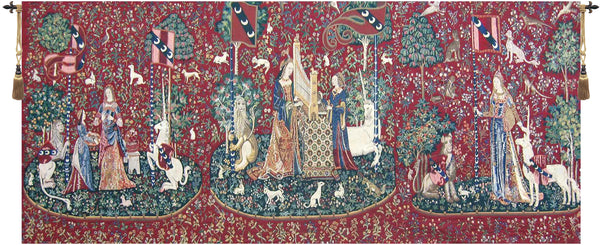 Lady and the Unicorn Series II Belgian Tapestry