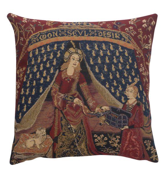 My Only Desire Belgian Cushion Cover