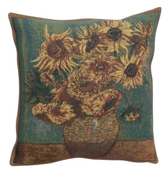 Sunflowers Belgian Cushion Cover