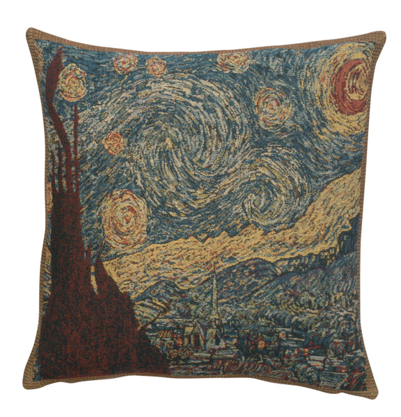 Stary Night Belgian Cushion Cover