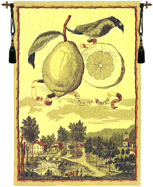 Lemon De Genova Tapestry Wall Hanging