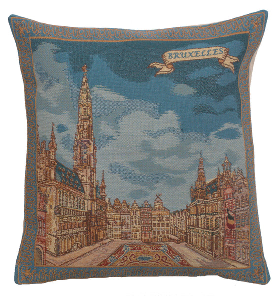 Grand Place Brussels I Belgian Cushion Cover