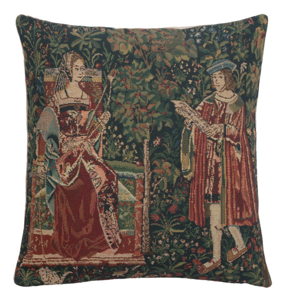 The Reading  Belgian Cushion Cover