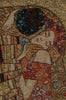 Le Baiser by Klimt Belgian Cushion Cover