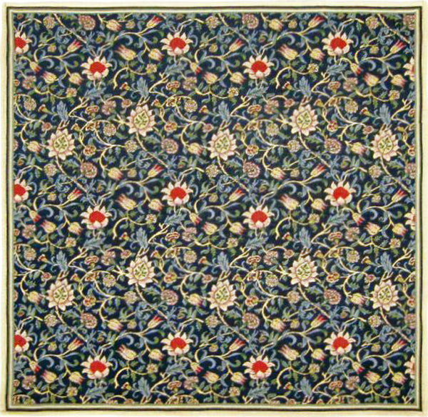 Fleurs de Morris Belgian Throw
