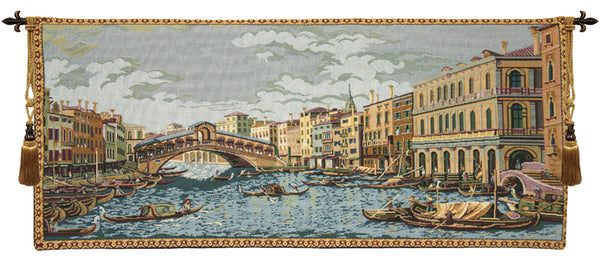 Grand Canal II Italian Tapestry Wallhanging