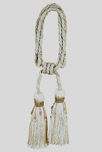 Milano Ivory Tapestry  Decorative Tassels