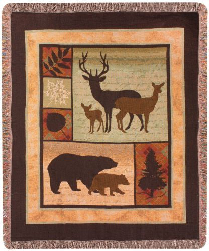 Call of the Wild I Tapestry Throw