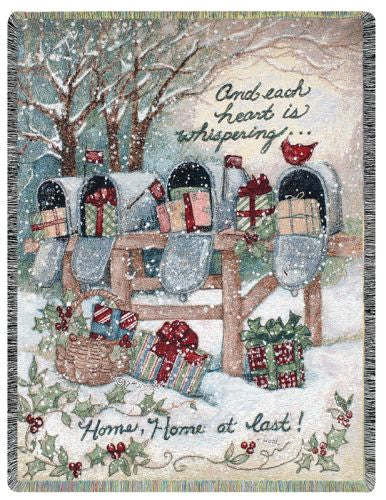 Home At Last I Tapestry Throw