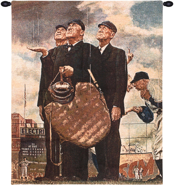 Norman Rockwell Bottom of the Sixth Fine Art Tapestry