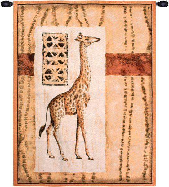 Imressions of Africa II Fine Art Tapestry