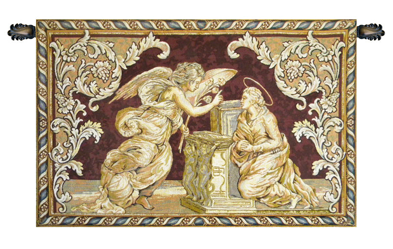Annunciation Italian Tapestry Wallhanging