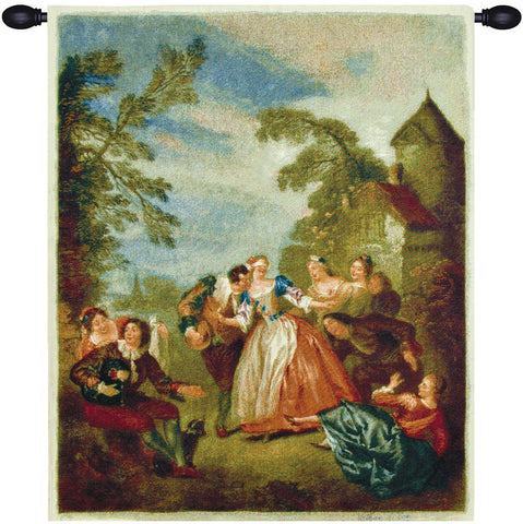 Blind Mans Bluff Fine Art Tapestry