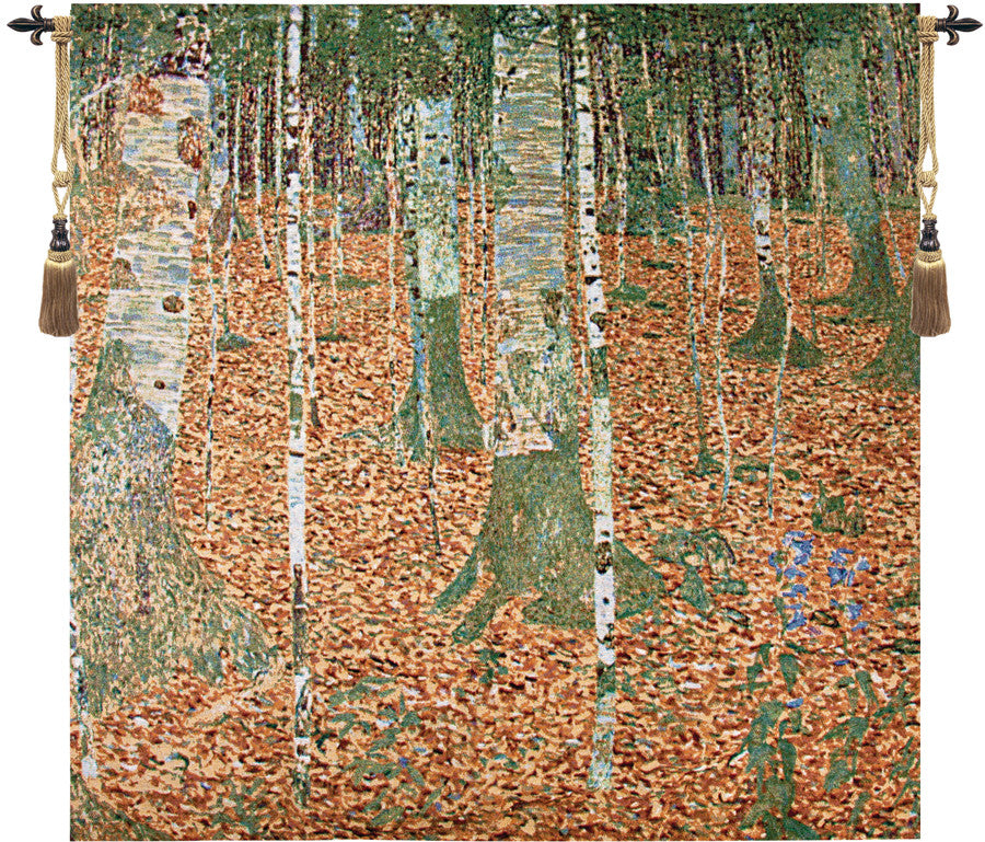 Birch Forest Fine Art Tapestry