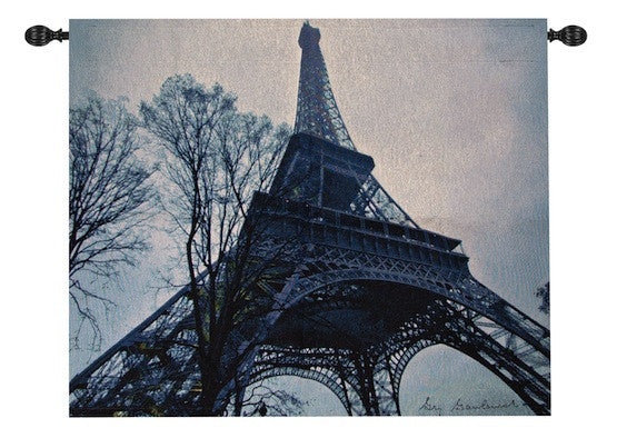 Eiffel Tower  Fine Art Tapestry