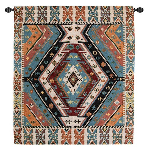 Turkish Carpet Fine Art Tapestry