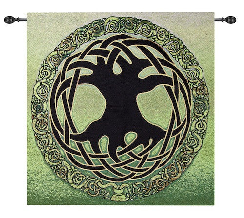 Tree of Life Elemental Fine Art Tapestry