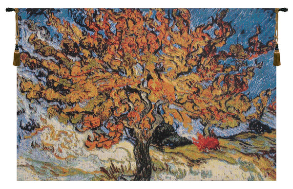 Mulberry Tree Belgian Tapestry Wall Hanging