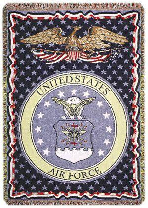 Air Force full-size 3 layer Tapestry Throw