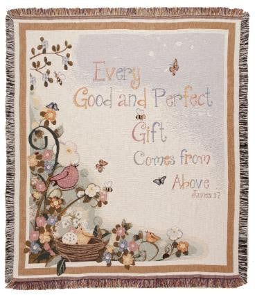 Good Gift  Tapestry Throw