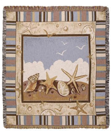 Blue Skies Tapestry Throw