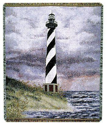 Cape Hatteras I Tapestry Throw
