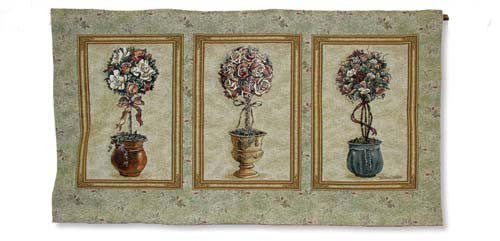 Rose Topiary Wall Hanging
