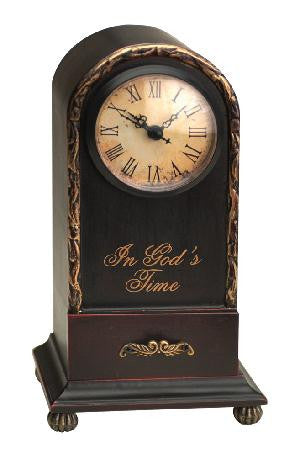 Time Well Spent In God's Time Table Clock