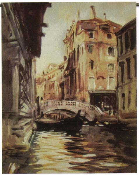 Italian River View Wall Hanging