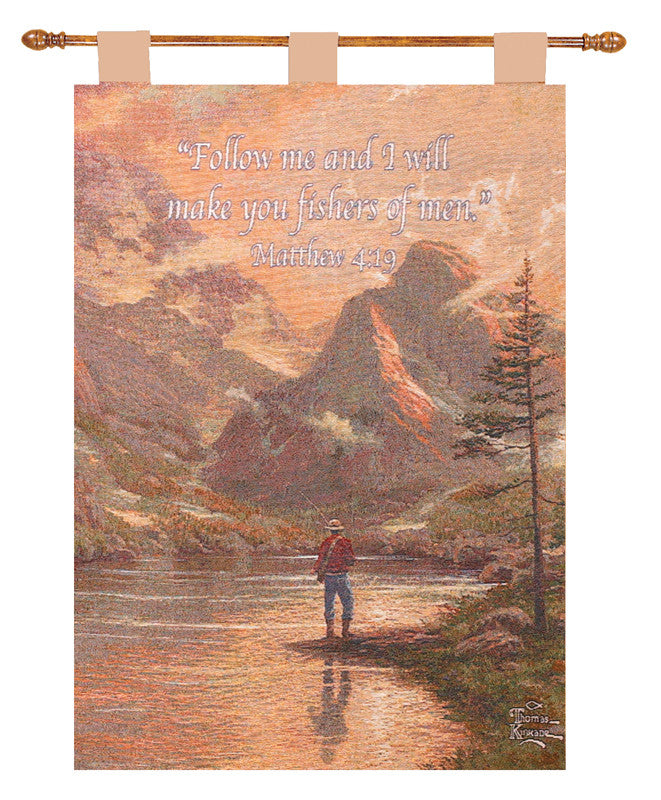 Almost Heaven w/Verse by Kinkade Fine Art Tapestry