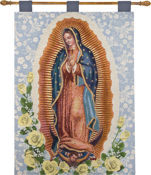 Our Lady of Guadalupe Fine Art Tapestry