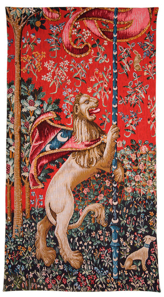Lion Majestueux French Tapestry Wall Hanging