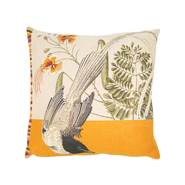 Oiseau Lyre French Tapestry Cushion