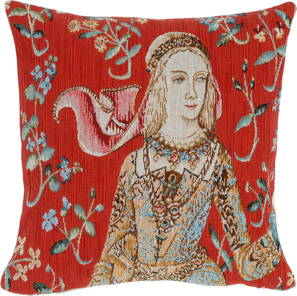 Eloise French Tapestry Cushion