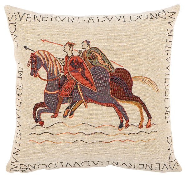 Les Messagers French Tapestry Cushion