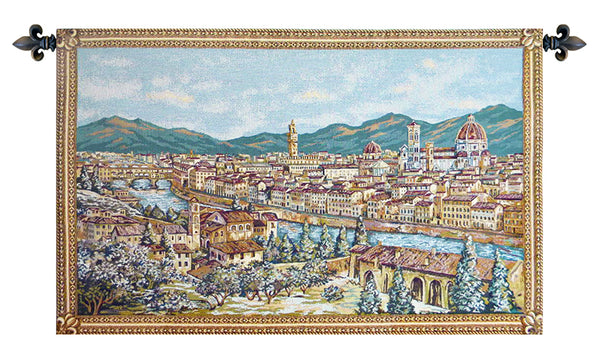 Firenze Italian Tapestry Wallhanging