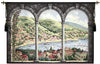 Como Lake Italian Tapestry Wallhanging