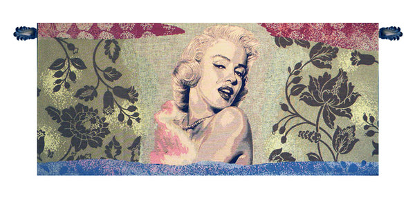 Marylin Monroe Italian Tapestry Wallhanging
